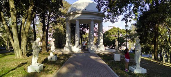 Parque Lezama La Boca Buenos Aires