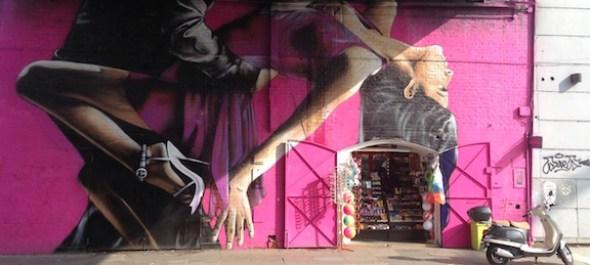 Mural en Avenida Libertador Palermo