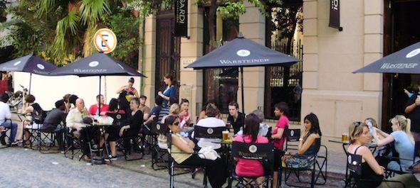 Detalle de San Telmo Cafe Buenos Aires