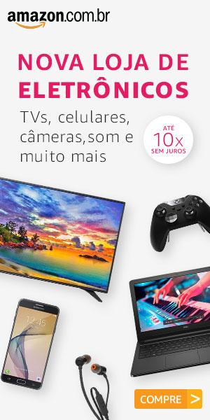 Nova loja de eletrônicos Amazon Brasil