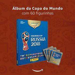 Álbum da Copa da Rússia 2018 Panini