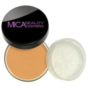 SAMPLE SIZE - 07 - Natural Glow Loose Foundation Powder - Peached Amber