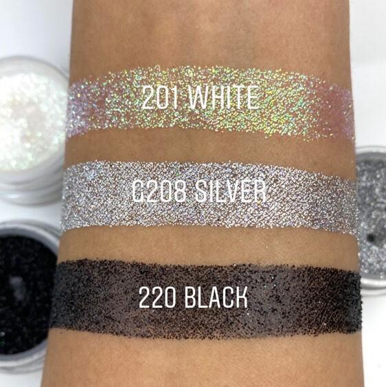 Glitter Powder - White
