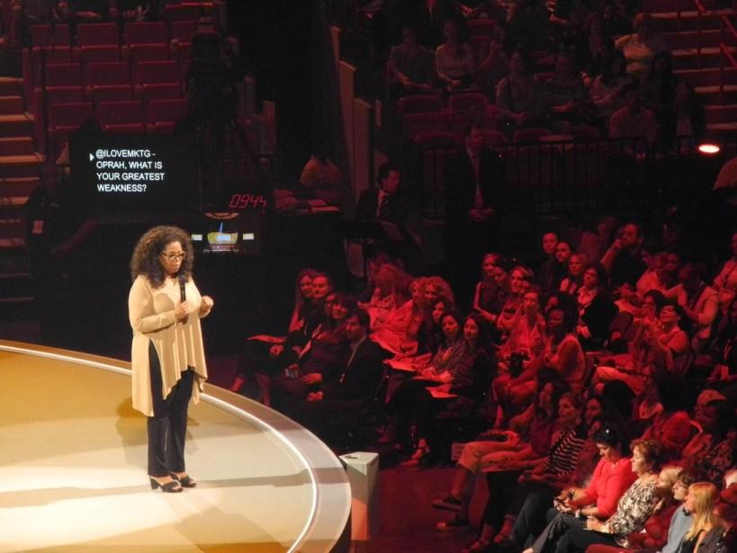 Oprah Life You Want Tour Burst My Heart Open
