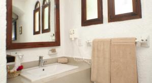 baño Eco-hotel El Rey del Caribe Cancún