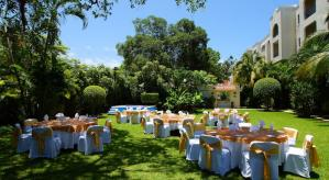 jardin hotel Adhara Hacienda Cancun