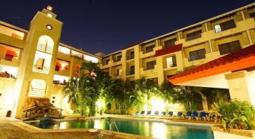 noche en hotel Adhara Hacienda Cancun
