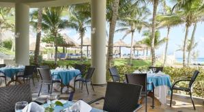 restaurant vista al mar Hotel Barcelo Tucancun Beach - Todo Incluído
