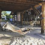 Playa Norte Isla Mujeres hamacas