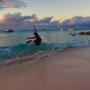 surf Playa Norte Isla Mujeres