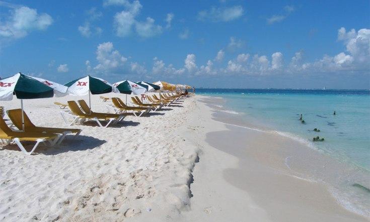 Playa paraíso isla Mujeres