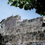 ruinas en el museo maya