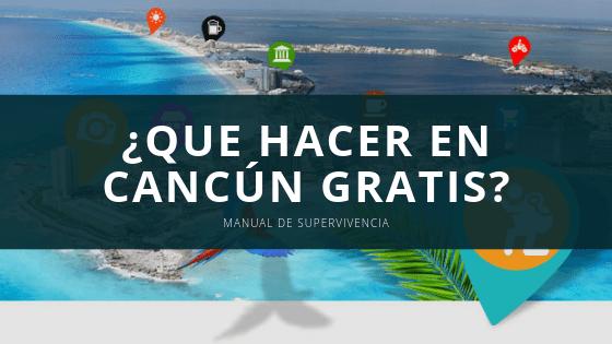 Que Hacer En Cancún Gratis Mi Cancún Hoteles Y Tours