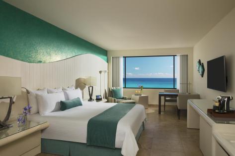 Now Emerald Cancun con vista al mar