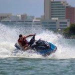 pasos en motos acuaticas cancun