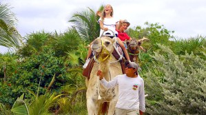 Safari Maroma Adventure safari para niños en la riviera maya