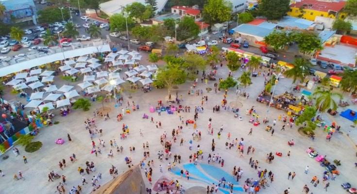 parque de las palapas ciudad de cancun