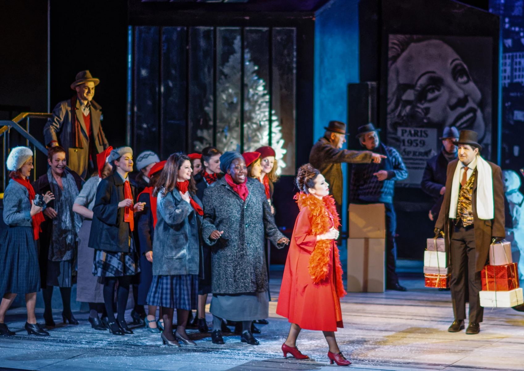 Musetta, La Bohème, Puccini, Opéra de Massy 2018