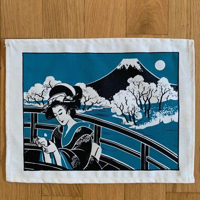 Tovaglietta di cotone/ Giappone by Elisa Menini