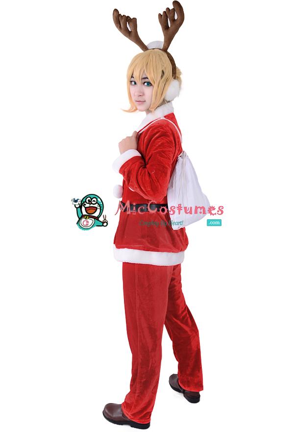 Vocaloid_Len_Christmas_Cosplay_Costume_1