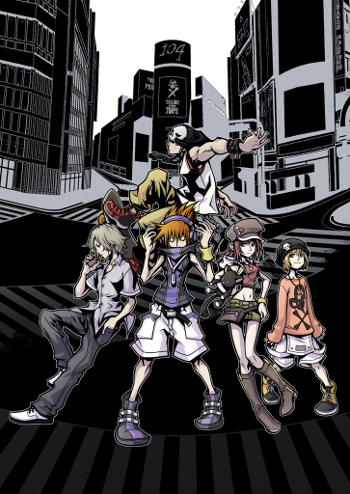 """Its bold graphics and hip soundtrack have defined """"TWEWY"""" as one of the most stylish games ever made"""