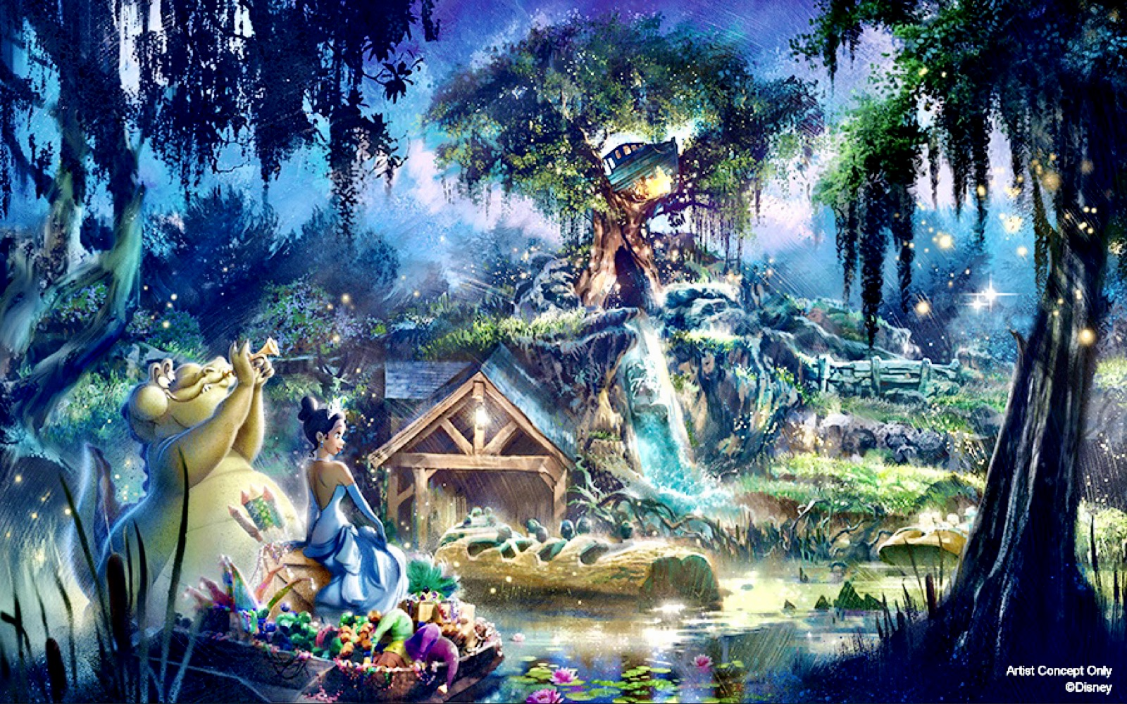 Breaking News Splash Mountain To Become Princess And The Frog Themed