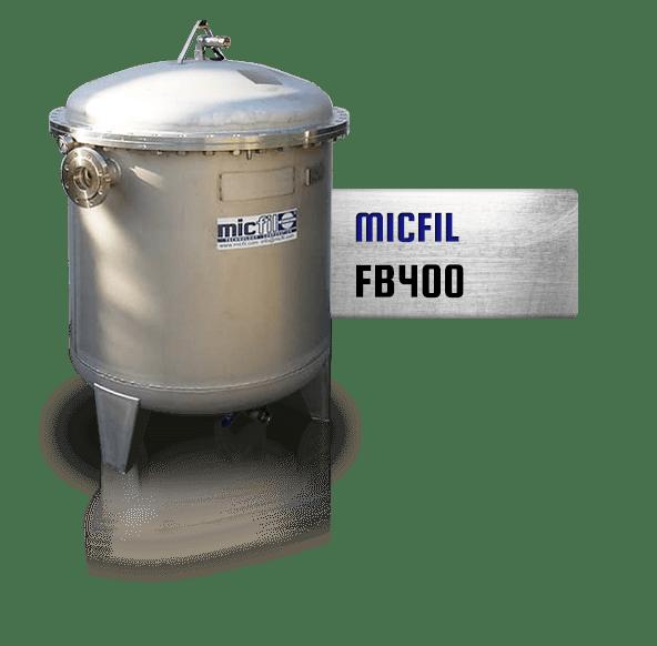 Micfil FB400 bulk filtratie systeem
