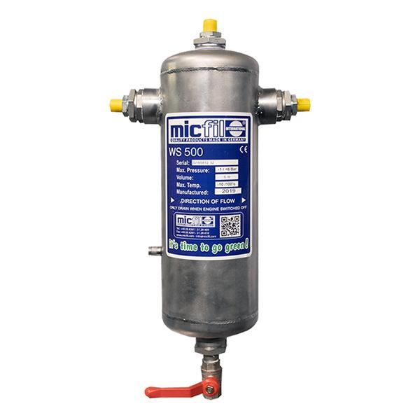 Micfil WS500 waterseparator