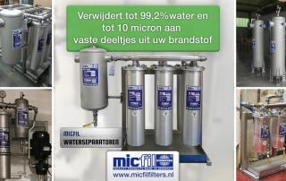 Micfil Waterseparatoren