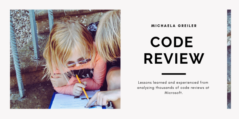 Two kids learning together as a symbol for code reviews
