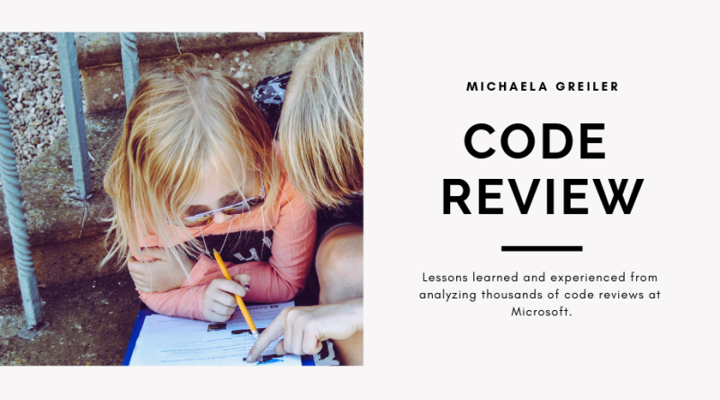 Code review blog post series