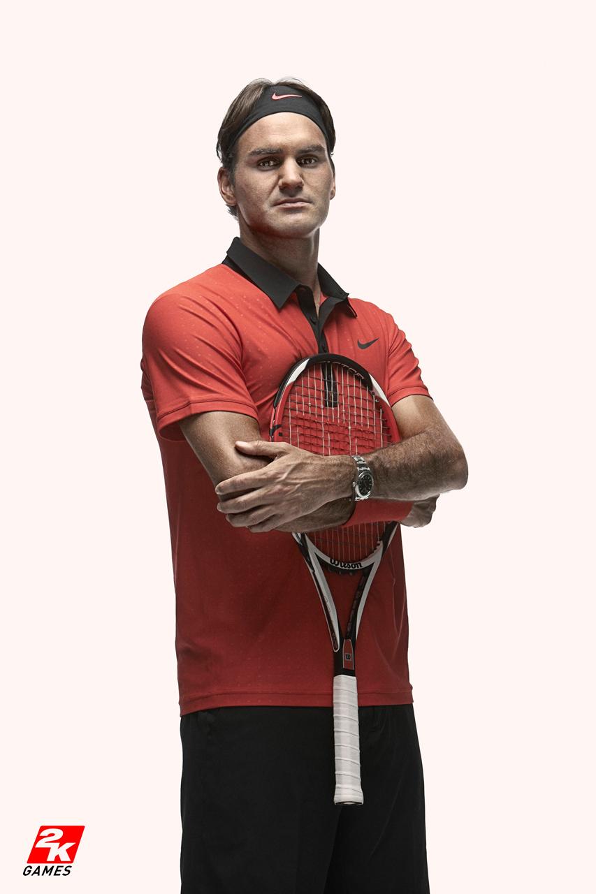 Roger Federer 2K Tennis