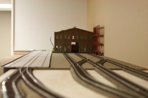 Track work in for warehouses, dock track to be added when dock is permanently installed.