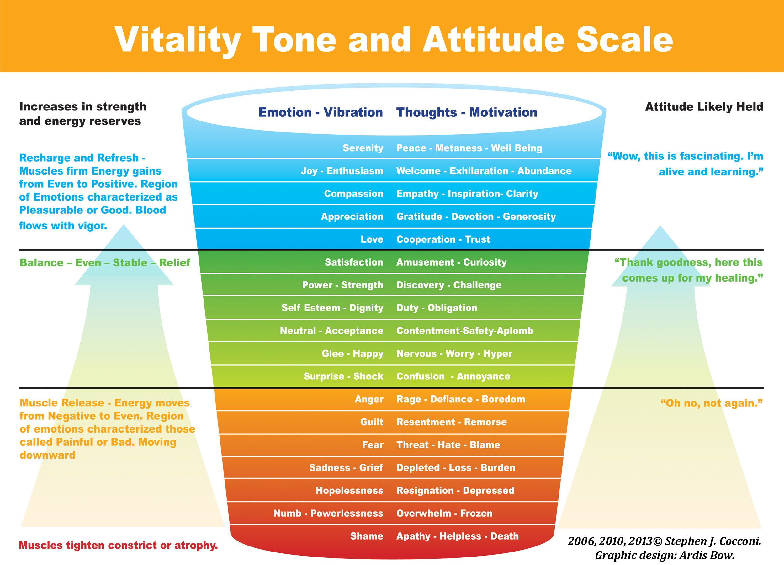 Vitality Tone And Attitude Scale The Michael Motivation