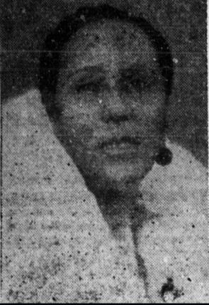 Lola Anne Cullum in 1940