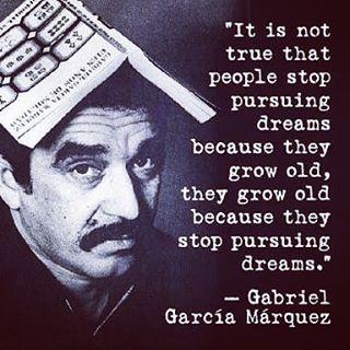 Gabriel Garcia Marquez quote