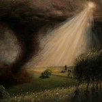 Oklahoma Twister, 2011, oil on linen, 36x24in (91.5x61cm)