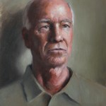 Sketch Of My Father, 2014, oil on panel, 16x12in (40x30cm)