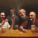 The Storyteller, 2013, oil on linen, 30x48in (76x122cm)