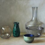 Vessels, 2013, oil on linen, 14x18in (35.5x46cm)