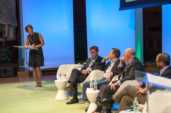 Deep in thought at the Innovation Project 2014.  #PYMNTS @Harvard