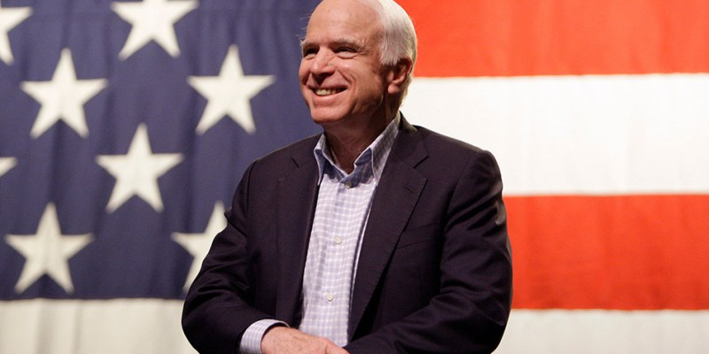 John McCain, Poetry, and Character