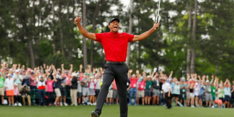 """Tiger Woods, Perseverance, and the """"U-Curve"""" Path"""
