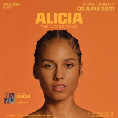 Alicia keys 3 arena concert bus