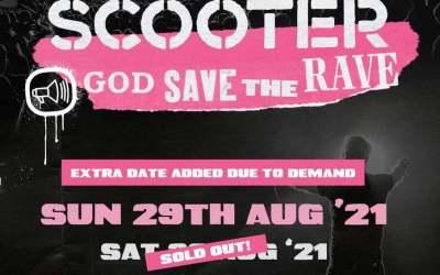 Scooter, CHSQ Belfast. 29th August 2021