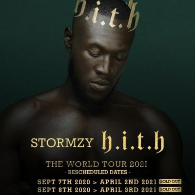 Stormzy 3 arena concert bus
