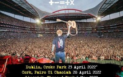 Ed Sheeran, Boucher Rd Belfast. Thursday 12th May 2022