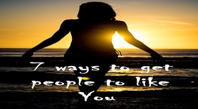get people to like you