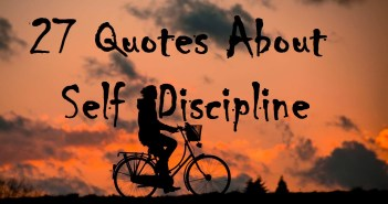 27 Quotes About Self-Discipline