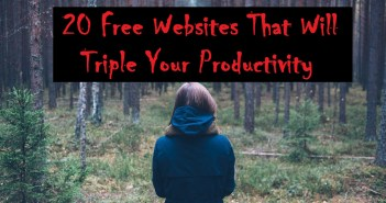20 Free Websites That Will Triple Your Productivity